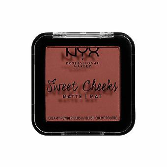NYX PROF. MAQUIAGEM Bochechas doces cremoso Matte Powder Blush-Totally Chill