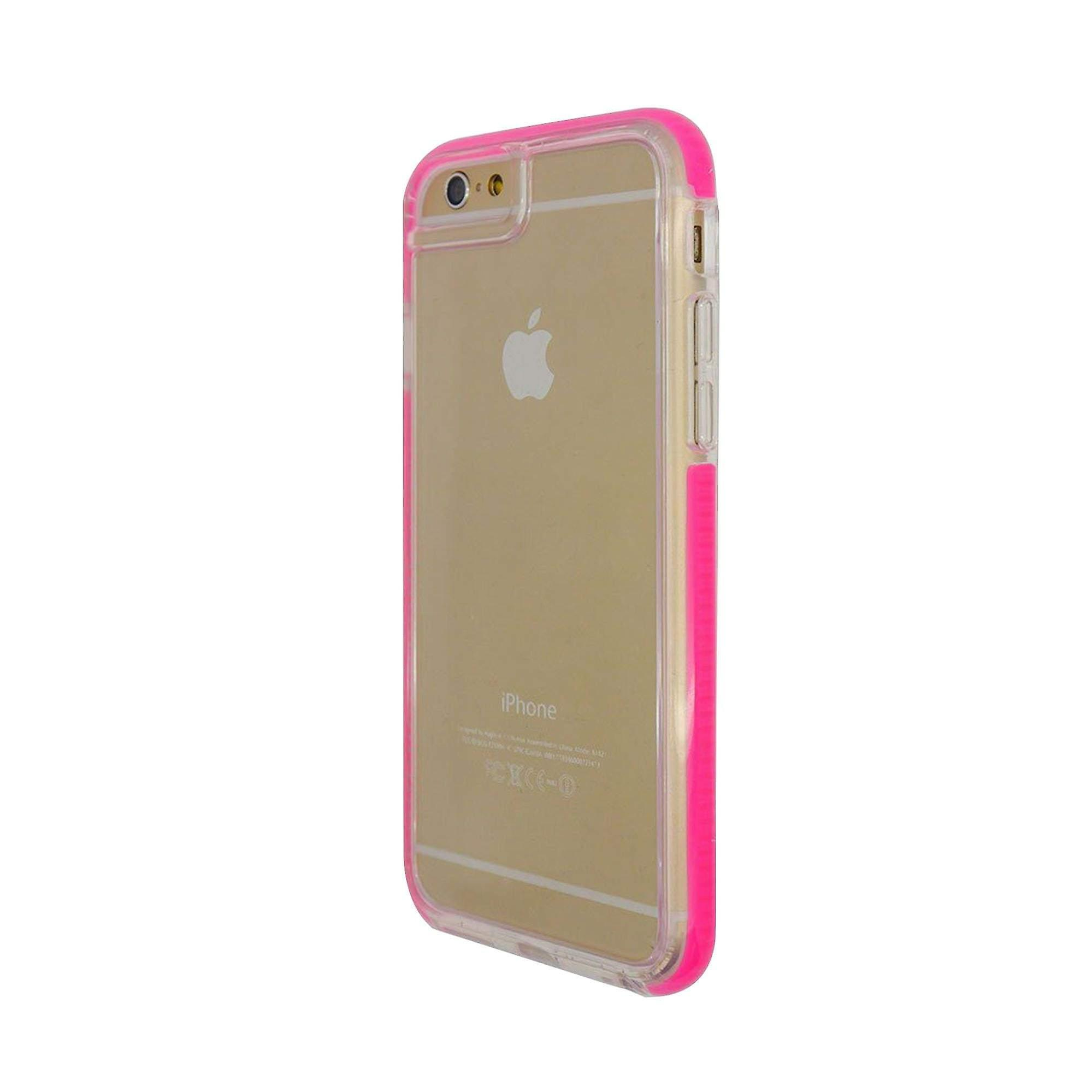 iPhone 6/6s Armour Protect Clear View Hard Shell Pink