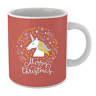 Unicorn Christmas Mug