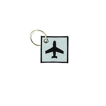 Cle Cles nyckel brode patch Ecusson flygplan panel Aviation symbol