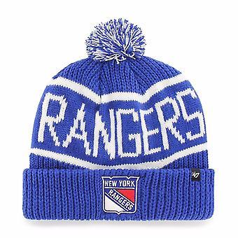 '47 Nhl New York Rangers Blau Calgary Manschette stricken