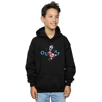 Disney Boys Frozen 2 Olaf Leaf Jump sudadera con capucha