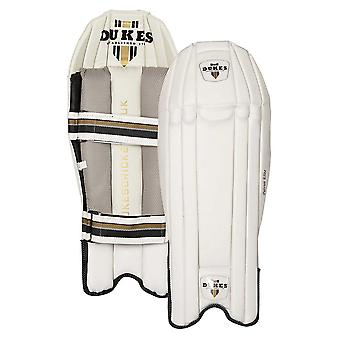 Dukes Patriot Elite Cricket Wicket Keeping Keeper Pads Leg Guards Protection