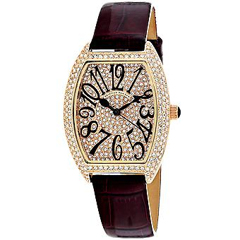 Christian Van Sant Mujeres's Elegante reloj de esfera de oro rosa - CV4822