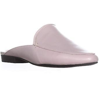Alfani Womens Khourt Leather Slides Mules Beige 10 Medium (B,M)
