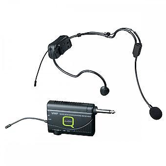 Q-audio Q-audio Qwm1900hs UHF headset system
