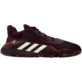 Adidas Pro Bounce 2019 Low Maroon/Footwear White-Active Maroon G26178 Men's
