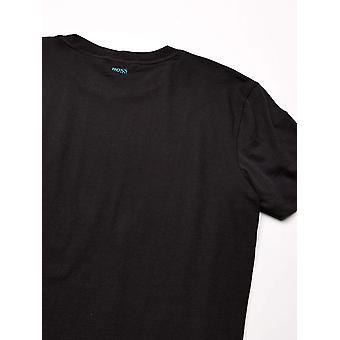 BOSS Orange Men's TNight T-Shirt, Black, L, Black, Size Large