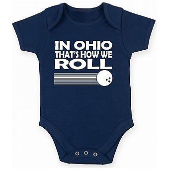 Body neonato blu navy gen0212 in ohio roll
