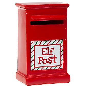 Christmas Shop Elf Postbox Accessory
