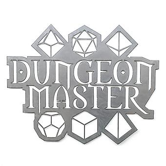 Dungeon master - metal cut sign 24x19in