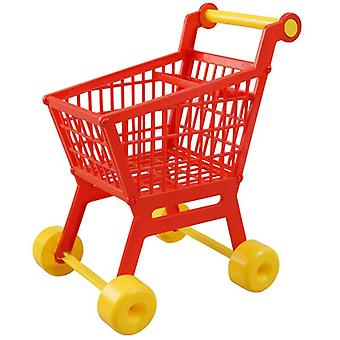 Pilsan 07607 Toy shopping cart with accessories made of plastic, height 48 cm