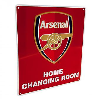 Arsenal FC Official Home Changing Room Sign