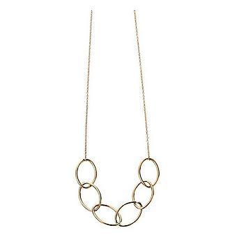 Elements Gold Big Link Necklace - Gold