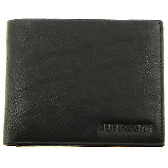 Currency Door And Cards A/Black - Men-Leather