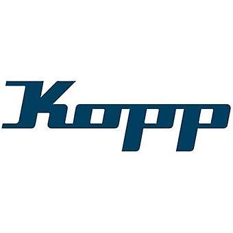 Kopp 152310848 Flexible cable H03VV-F 3 G 0.75 mm² Black 10 m