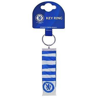 Chelsea FC Official Football Bar Scarf Keyring