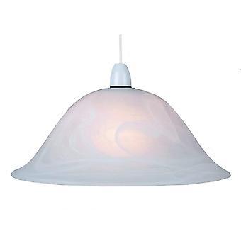 """THLC Murano / Alabaster Stil 13"""" Kun reserveglassskjerm"""