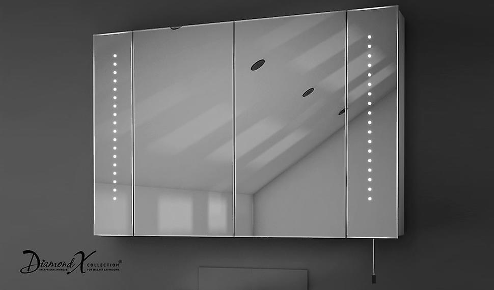 Hatha LED batterie salle de bain miroir armoire avec tirez le cordon k143
