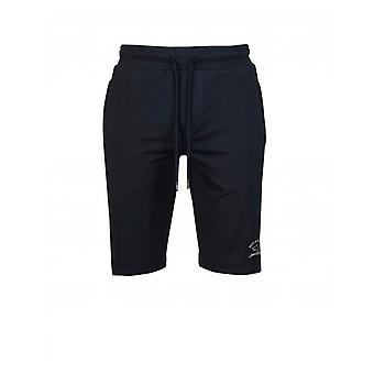 Paul en Haai reflecterende logo Jersey Shorts
