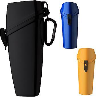 Witz het Wrapper lichtgewicht waterdichte lenzenvloeistof geval met Carabiner