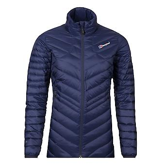 Berghaus Tephra Reflect Down Womens Ladies Insulated Outdoor Jacket Navy Blue