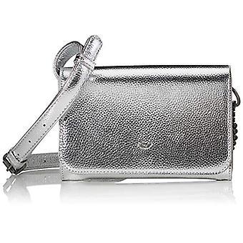 Fritzi aus Preussen Poshbag Mini - Donna Silver shoulder bags (Silver) 5x24x17 cm (W x H L)