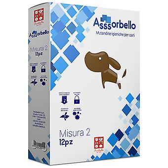 Ferribiella Disposable Pants S.2 Fuss Dog  (Dogs , Grooming & Wellbeing , Diapers)