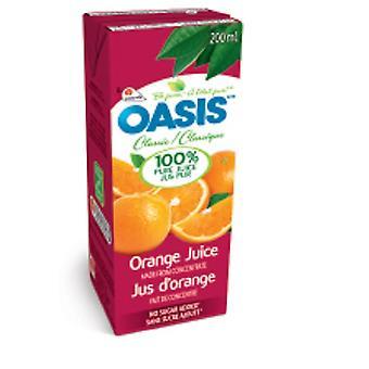 Oasis Tetra Appelsinjuice-( 200 Ml X 32 Bokser)