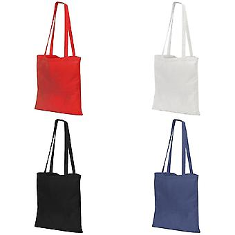 Jassz Bags Budget Promo Long Handle Shopping Bag / Tote (Pack of 2)