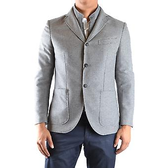 Lebole Ezbc406001 Men's Grey Cotton Blazer