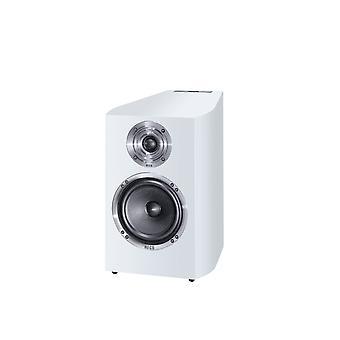 Heco Celan Revolution 3, 2 måter bassrefleks sokkel høyttaler, hvit, 2 stk