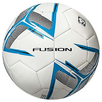 Precision Fusion Recreational Match Training Football Ball White/Blue/Black