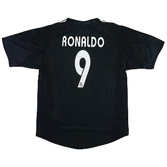 2004-2005 Real Madrid Deplasman forması XL (RONALDO 9) (Mükemmel)