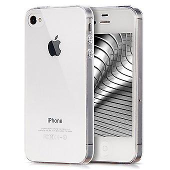 Shell pour Apple iPhone 4/4s Clear TPU Protection Case