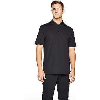 Under Armour Men's Tactical Performance Polo, Black/Black, Small