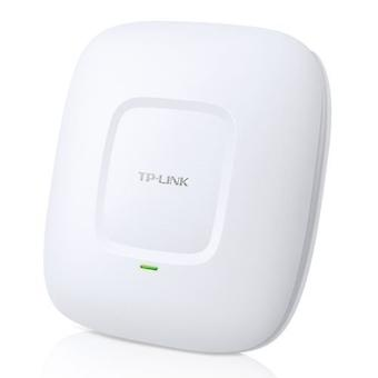 TP-LINK (EAP225) AC1350 (867-450) Dual Band Wireless Ceiling Mount Access Point, POE, GB LAN, Clusterable, MU-MIMO, Software libero