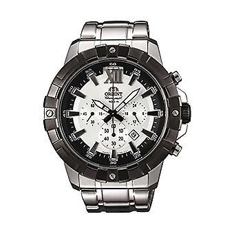 Orient chronograf kwarcowy zegarek ze stali nierdzewnej zespół FTW03002W0