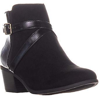 Karen Scott Womens Falonn Suede Closed Toe Ankle Fashion Boots
