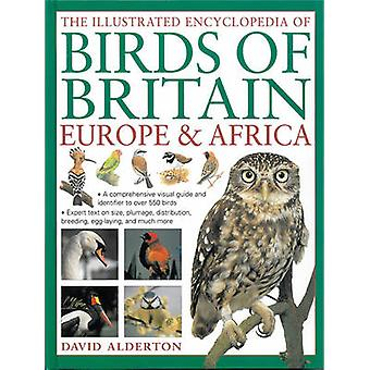 The Illustrated Encyclopedia of Birds of Britain Europe amp Africa  A Comprehensive Visual Guide and Identifier to Over 550 Birds by David Alderton