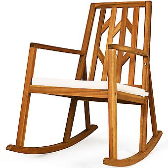 Rocking Chair Outdoor Seat Rocker Relaxing Armchair Garden Patio Balcony Lounge