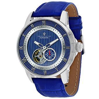 Christian Van Sant Men's Viscay Blue Dial Watch - CV0553