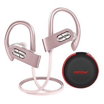 MPOW Flame 2 TWS Wireless Earpieces with Ear Hook Bluetooth 5.0 In-Ear Wireless Buds Earphones Earbuds Earphone 150mAh Pink