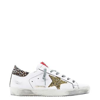 Golden Goose Gwf00101f00016680212 Women's White Leather Sneakers