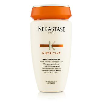 Nutritive bain magistral fundamental nutrition shampoo (severely dried out hair) 208134 250ml/8.5oz