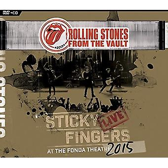 Rolling Stones - From the Vault - Sticky Fingers: Live at Fonda [CD] USA import