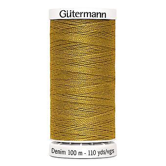 Gutermann Denim 100m No.50 Polyester Thread for Hand and Machine - Colour 1970
