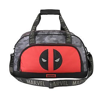 Marvel Deadpool Logo Holdall Sports Bag