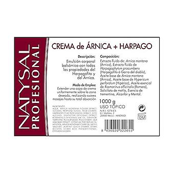 Arnica and Harpago Cream 1 kg