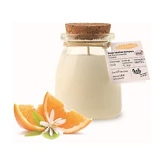 Natural scented candle orange blossom small model 120 g